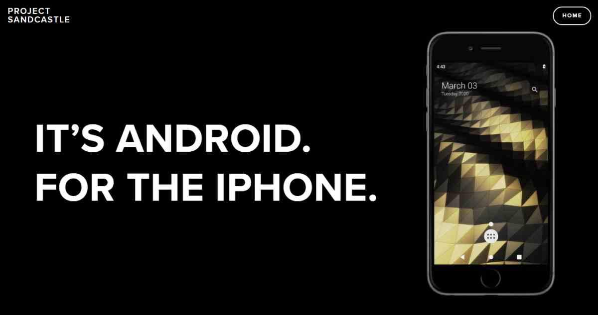 Crean nuevo proyecto para portar Android a teléfonos iPhone