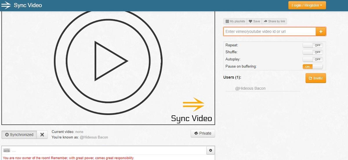 sync video