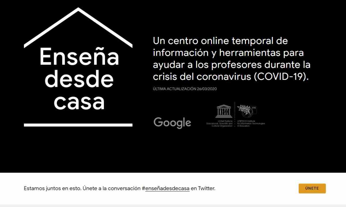 Google sigue ampliando sus iniciativas para tener a docentes y estudiantes conectados