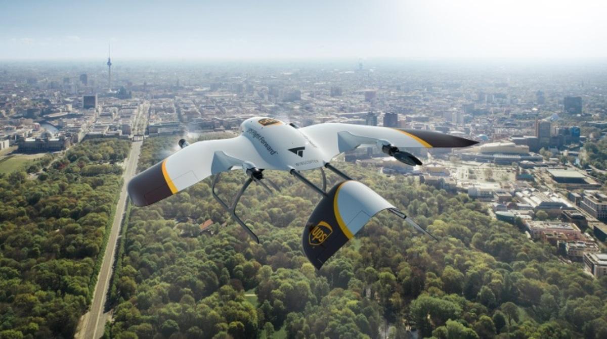UPS y Wingcopter unen esfuerzos para crear flota de drones teledirigidos multipropósito