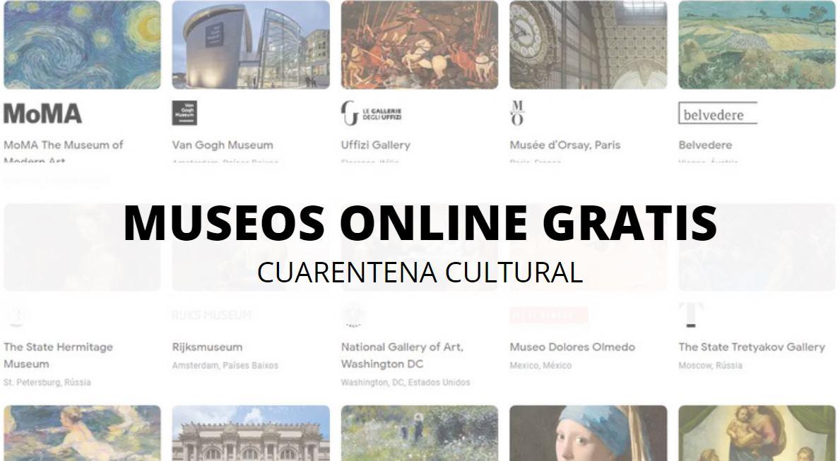 Galerías y museos online gratis durante la cuarentena