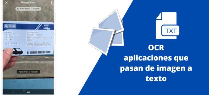 Aplicaciones Para Pasar De Imagen A Texto Ocr