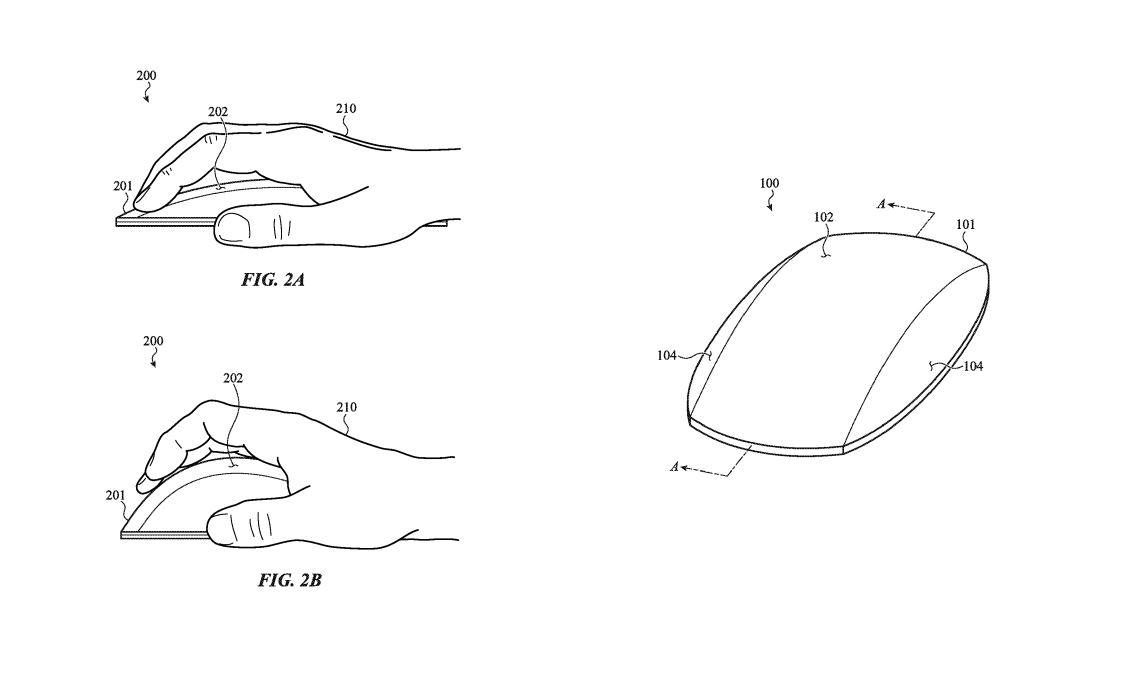 patente apple mouse
