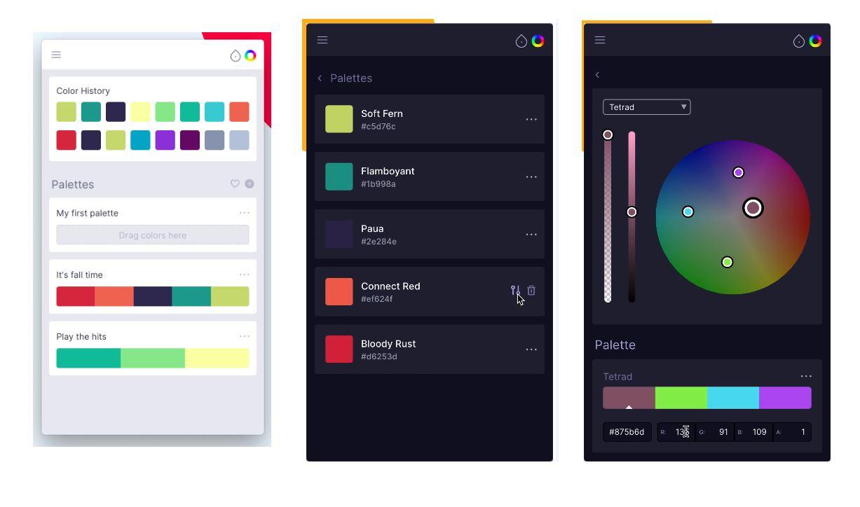 swach, una excelente aplicación para gestionar colores desde MacOS, Windows y Linux