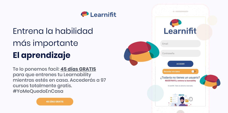 learnifit, 45 días gratis para usar esta plataforma de aprendizaje