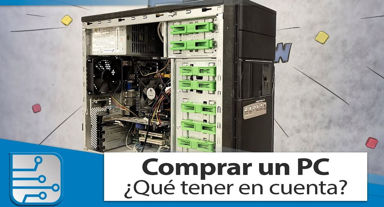Las partes de un PC, un vídeo introductorio