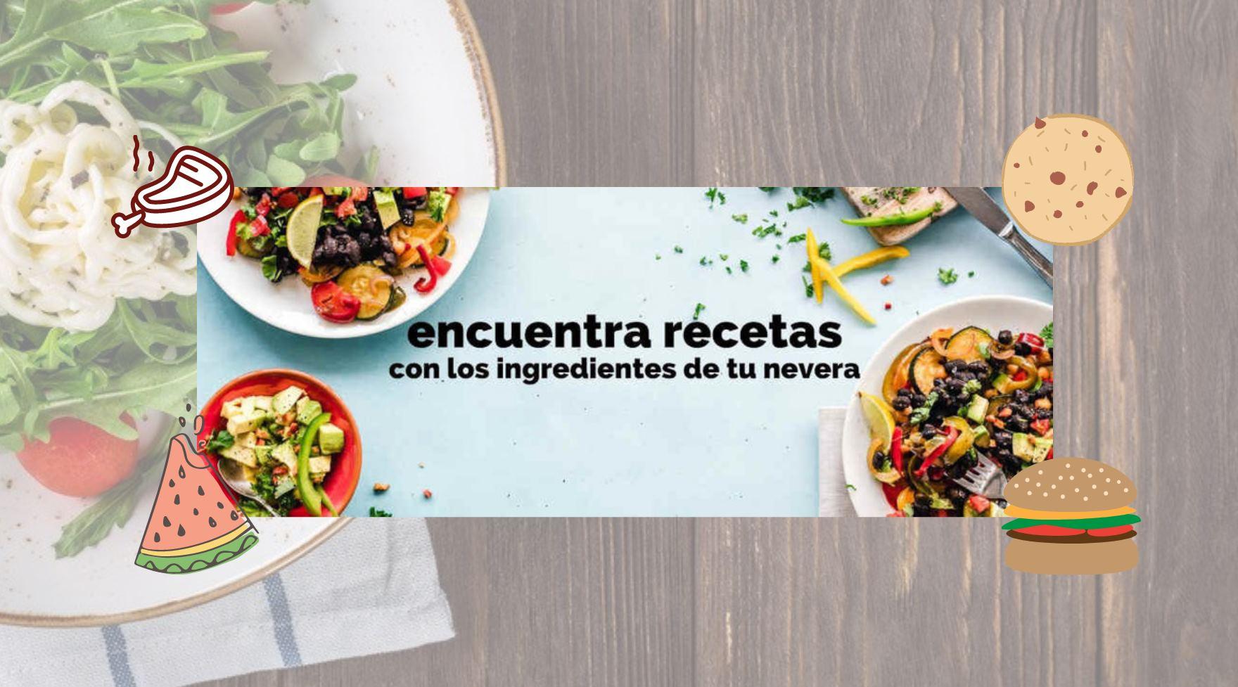 Sitios y apps para buscar recetas según los ingredientes que tengas en casa