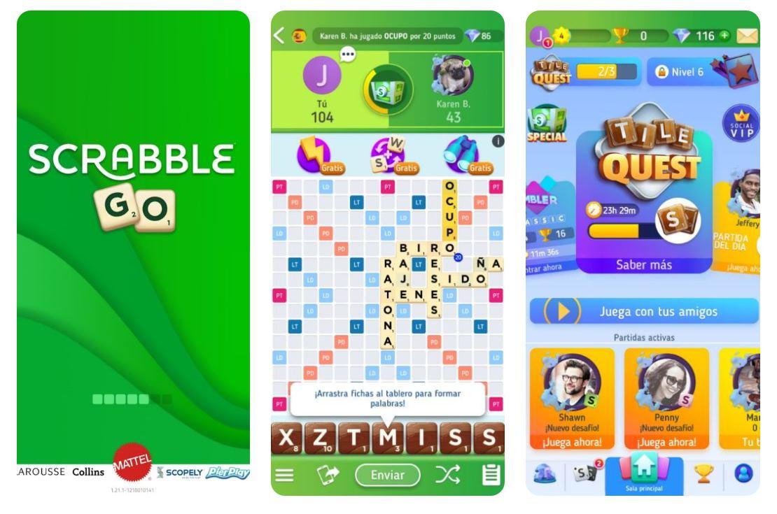 Así es el nuevo Scrabble Go para móvil
