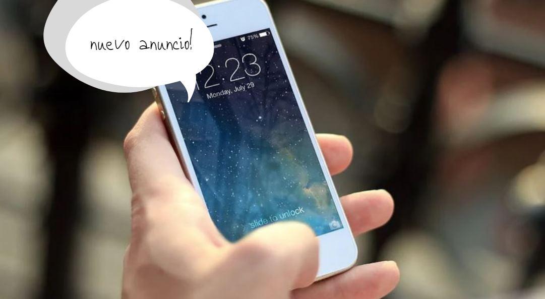 anuncios en iPhone