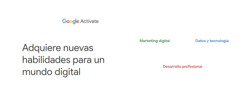 Cursos gratis de Marketing online ofrecidos por Google