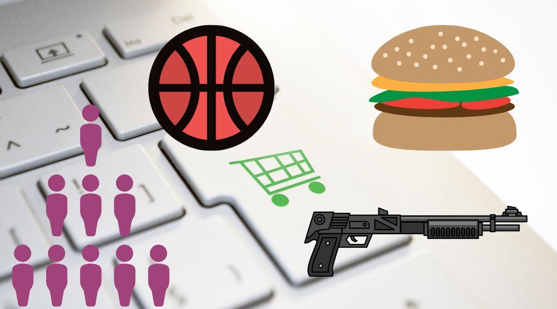 Lo que compran en Estados Unidos durante la cuarentena: comida, armas y fitness