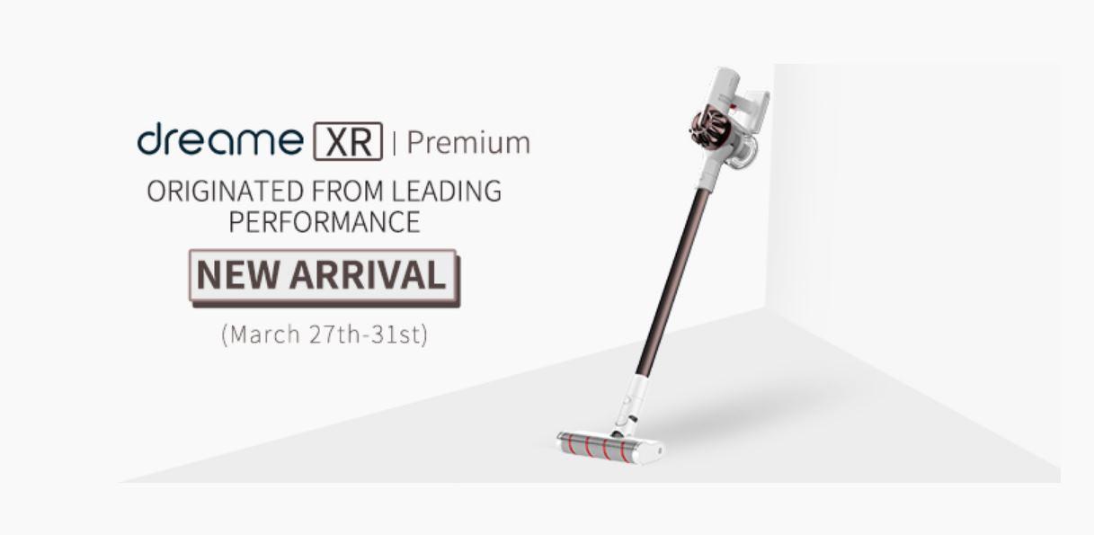 Dreame XR, una nueva aspiradora vertical que llama la atención por su potencia