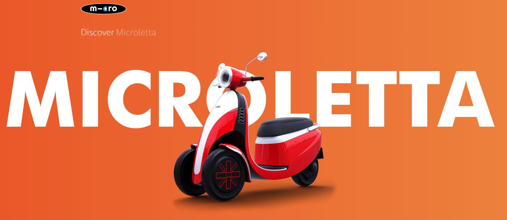 Microletta, un nuevo vehículo eléctrico que no necesita permiso de conducir