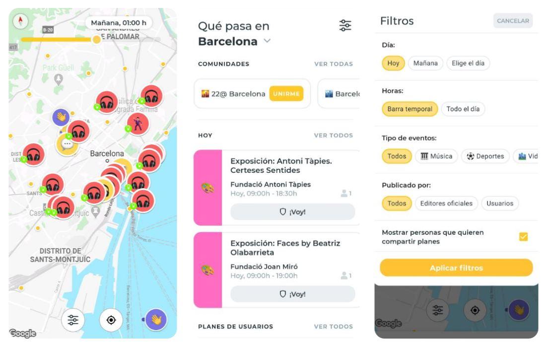Sharify, todos los eventos de tu ciudad en una sola app