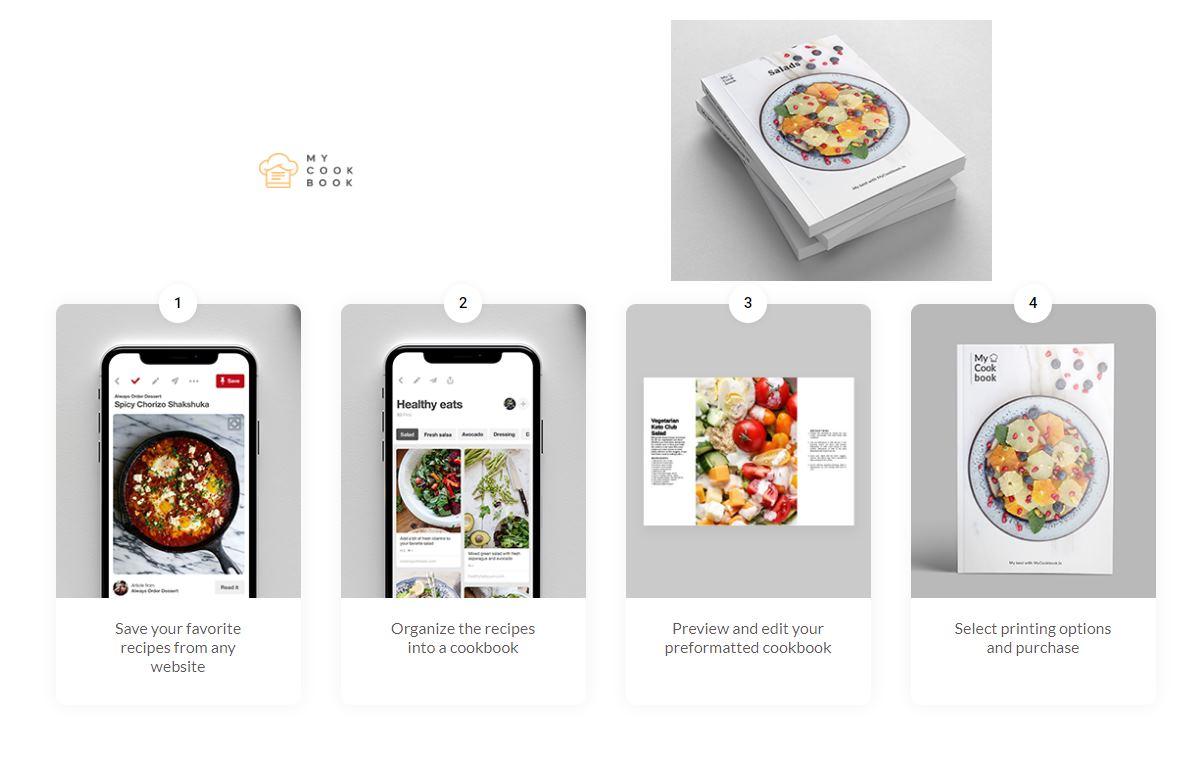 Para crear tu propio libro de recetas a partir de cualquier página web