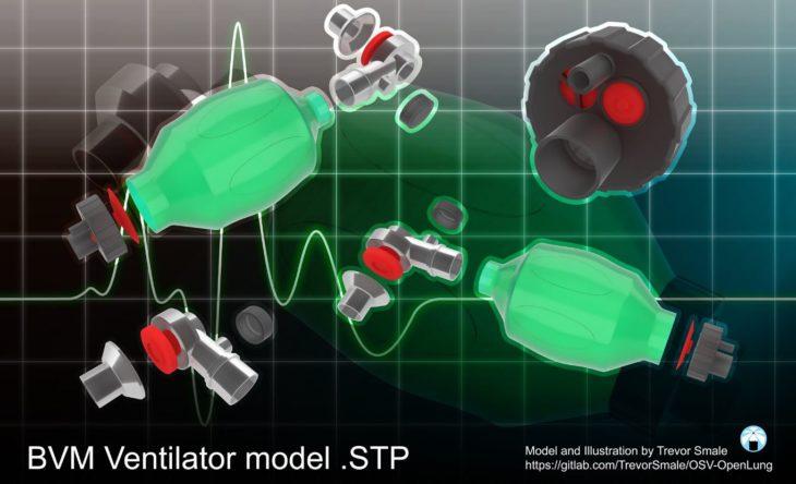 respirador impresión 3D
