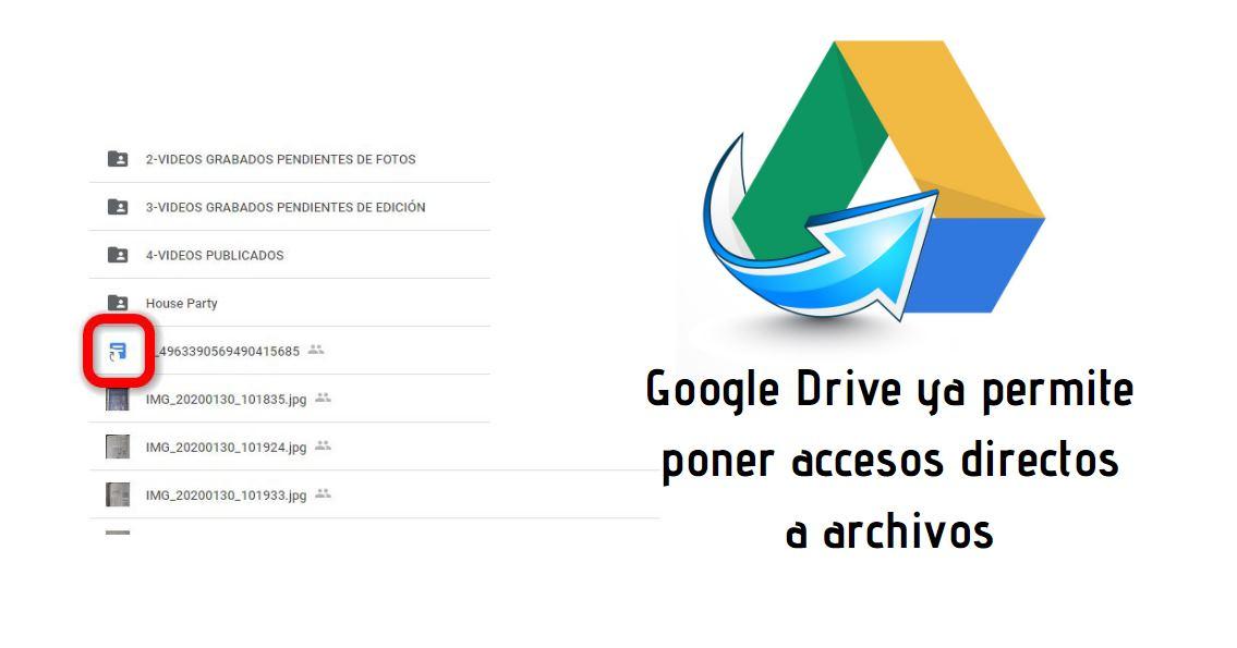 google Drive atajos