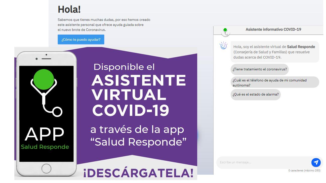 Un asistente virtual para ayudar con información del Coronavirus en castellano