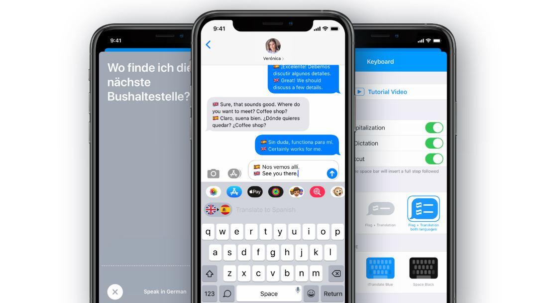 iTranslate presenta teclado para móviles especializado en traducir