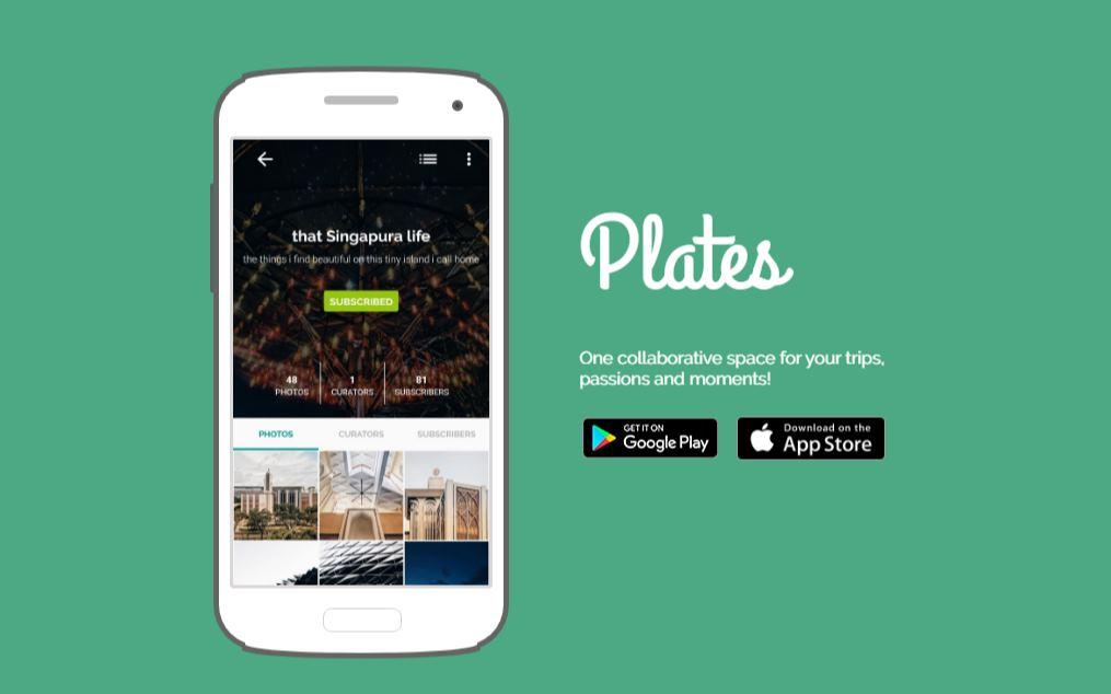 Plates, una app para crear álbumes compartidos de fotos y vídeos