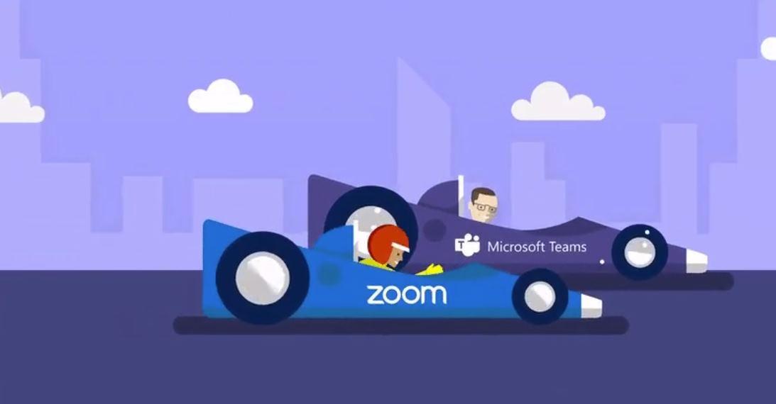 zoom y microsoft