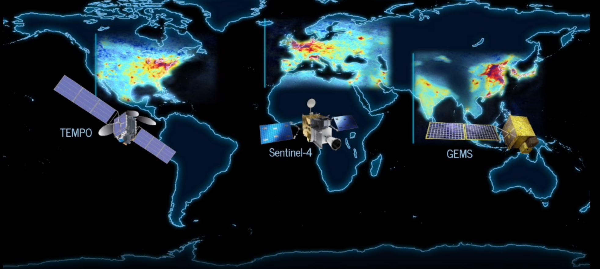 Dentro de poco podremos analizar la polución de La Tierra casi en tiempo real