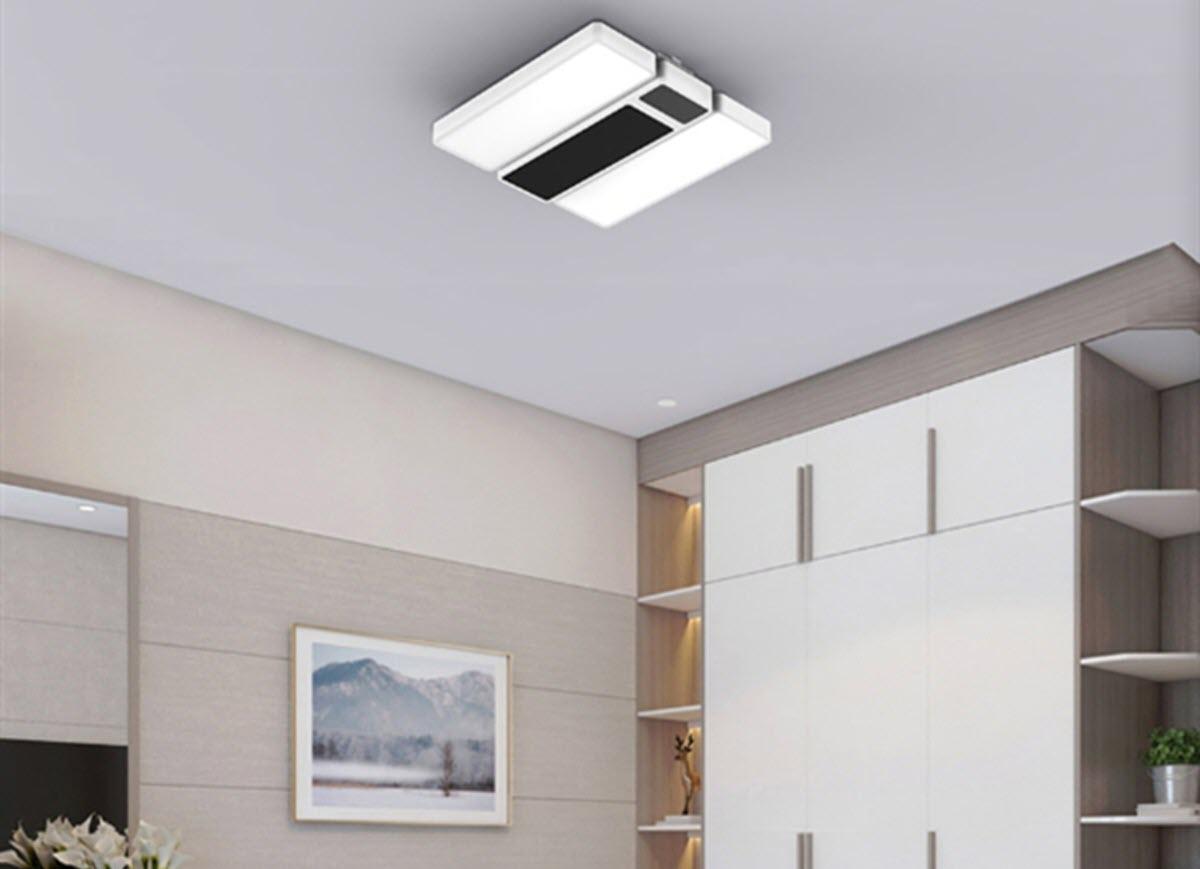 Xiaomi presenta una lámpara de techo que funciona como calentador