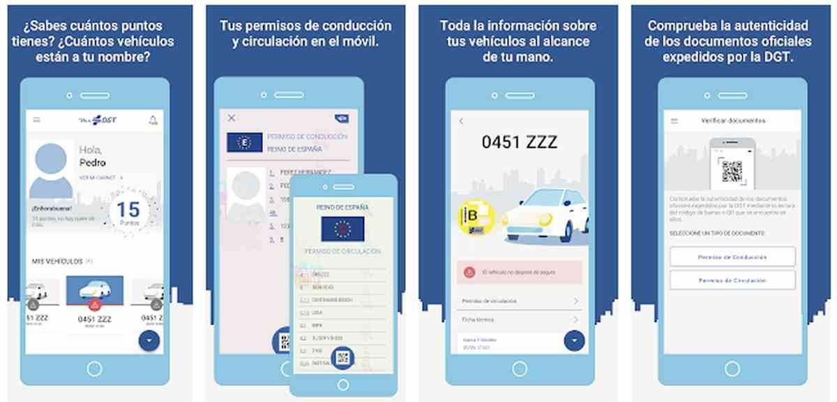 Así es la nueva app de la DGT, para tener el carnet de conducir en el móvil