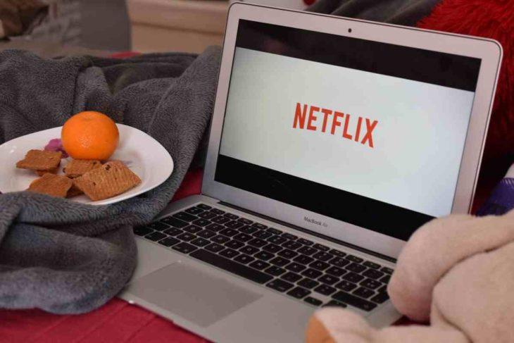 Netflix en un MacBook