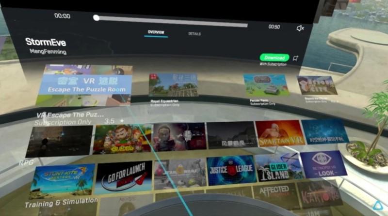 Viveport Infinity, portal de juegos de realidad virtual
