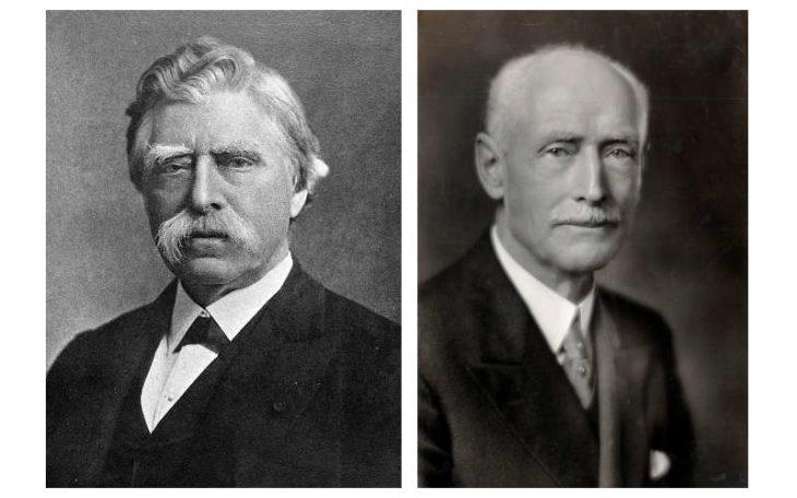 David Edward Hughes y Carl Seashore