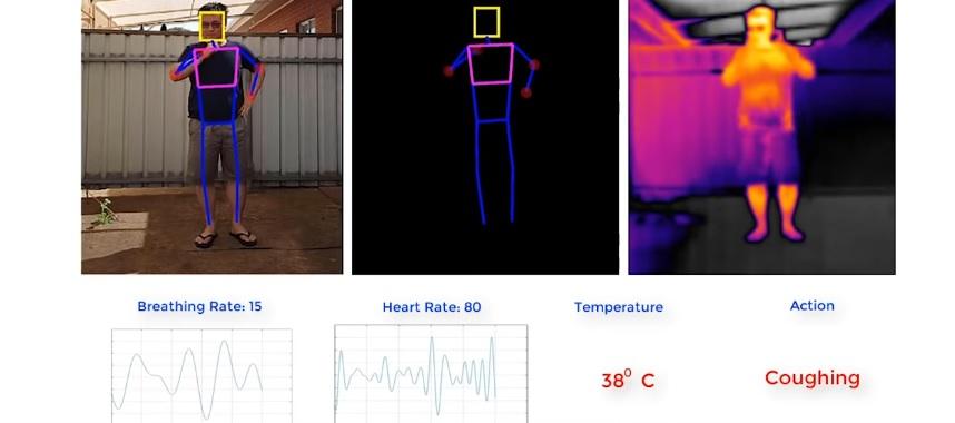 Capacidades del dron para detectar altas temperaturas