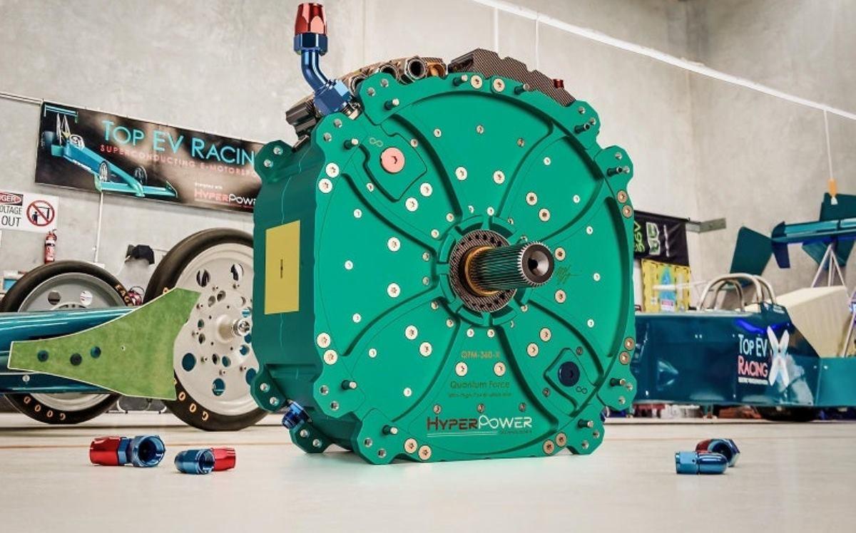 Fabrican motor eléctrico de 43 centímetros capaz de generar 1360 CV de potencia