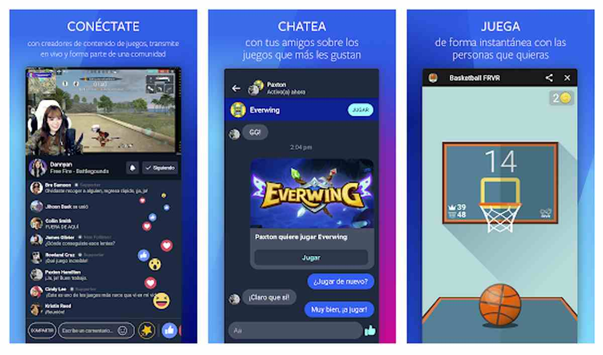 Facebook Gaming en Android
