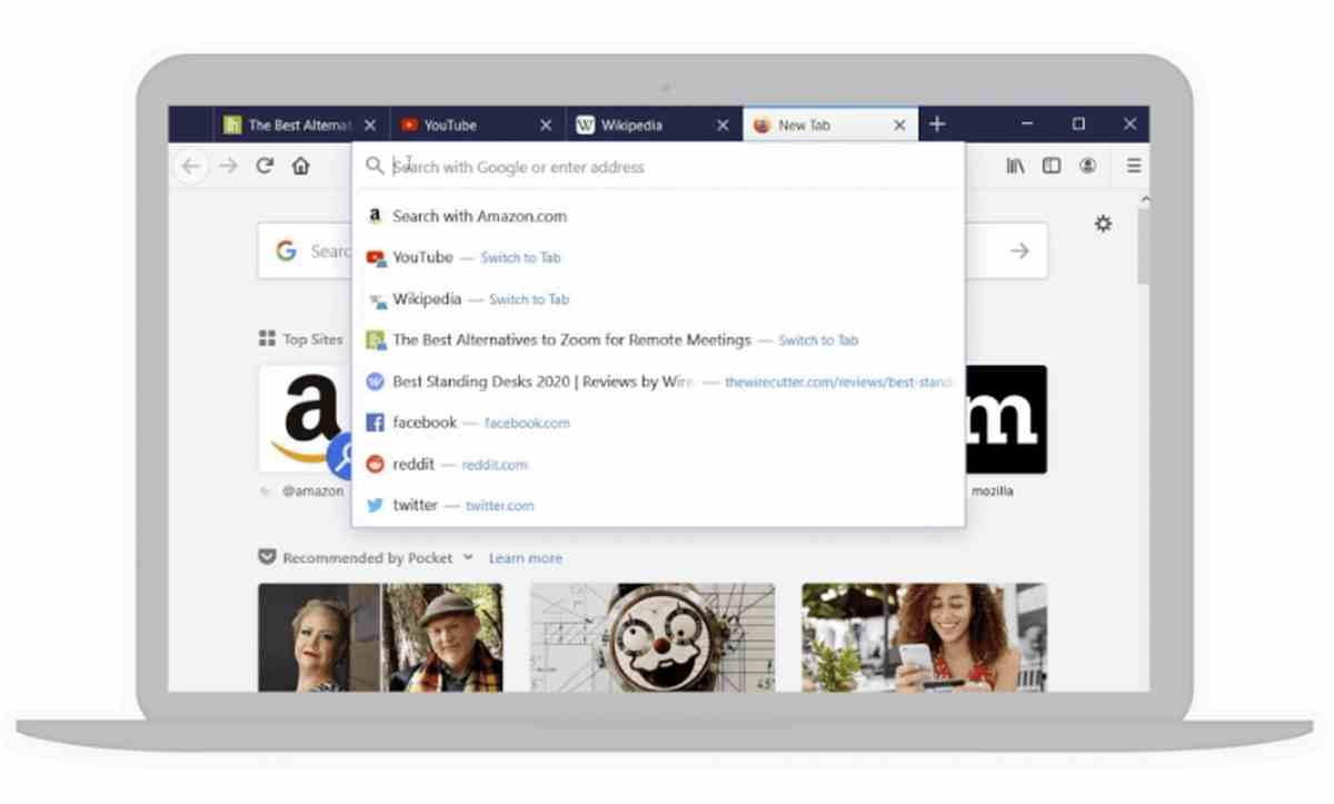 Llega Firefox 75 con el rediseño de su barra de direcciones para facilitar las búsquedas