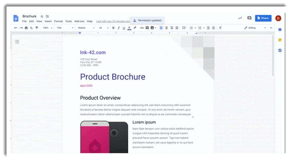 Ahora es más fácil compartir documentos desde Google Drive