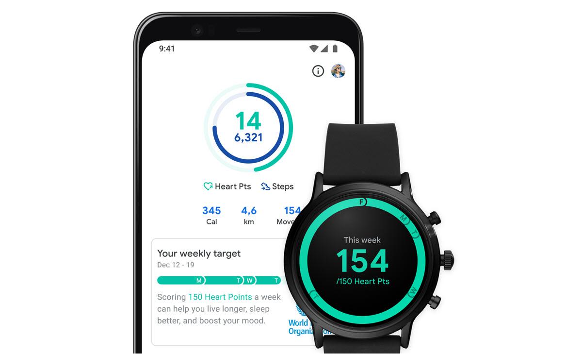 Google Fit mejora la interfaz y añade opciones para registrar la actividad física