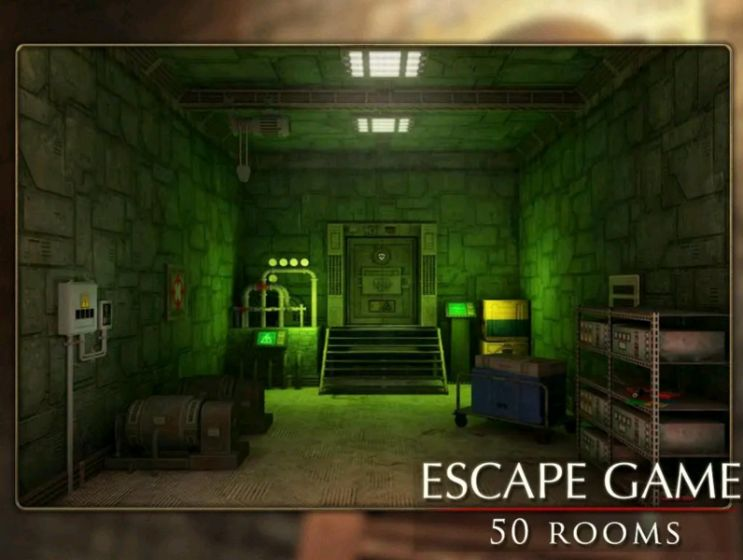 Escape Game: 50 rooms