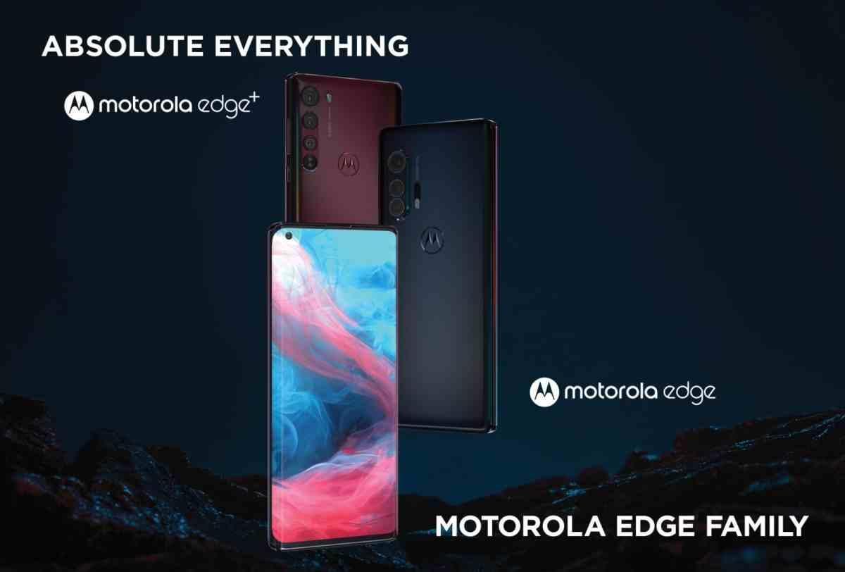 Familia de teléfonos Motorola Edge