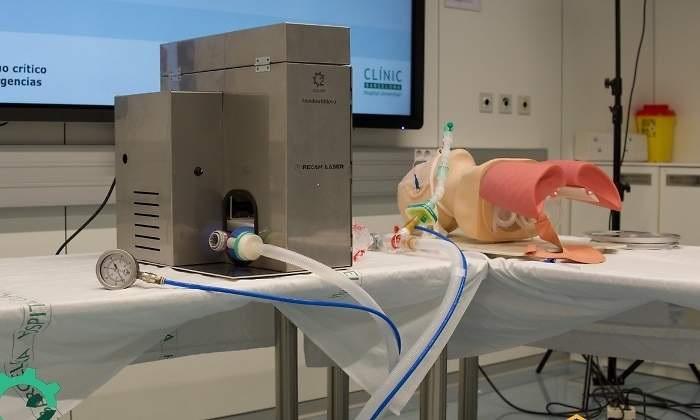 OxyGEN, un respirador de emergencia creado en Barcelona para atender casos de coronavirus