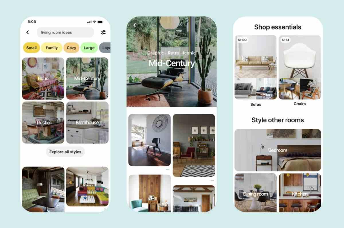 Pinterest realiza cambios para potenciar las compras online en pleno confinamiento
