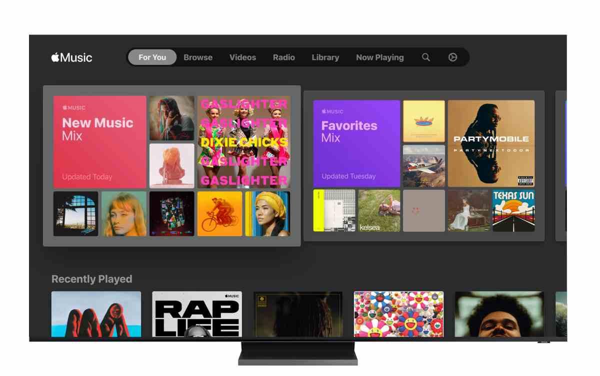Apple Music en Samsung Smart TV