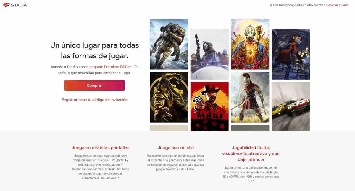 Google ofrece dos meses gratis de suscripciones Pro de Stadia en España y en otros países