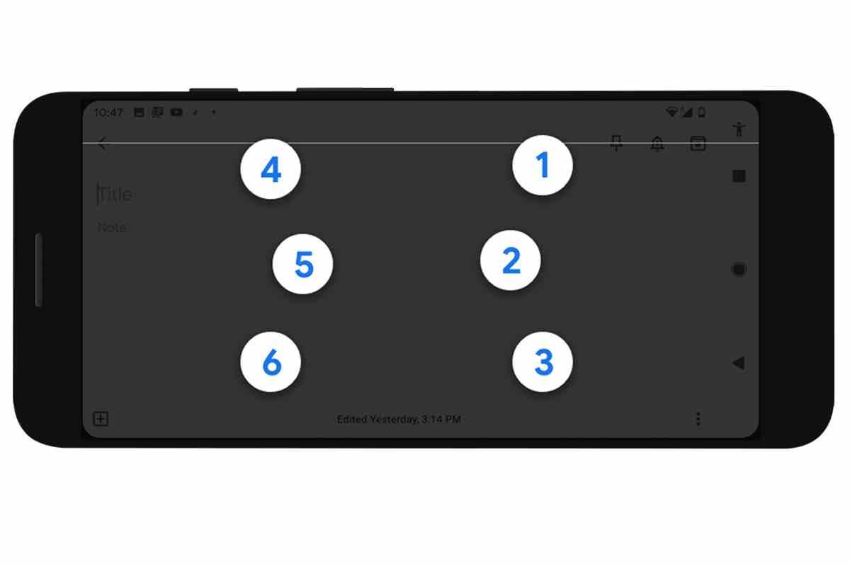 Google lleva a Android un teclado virtual especializado en el sistema braille