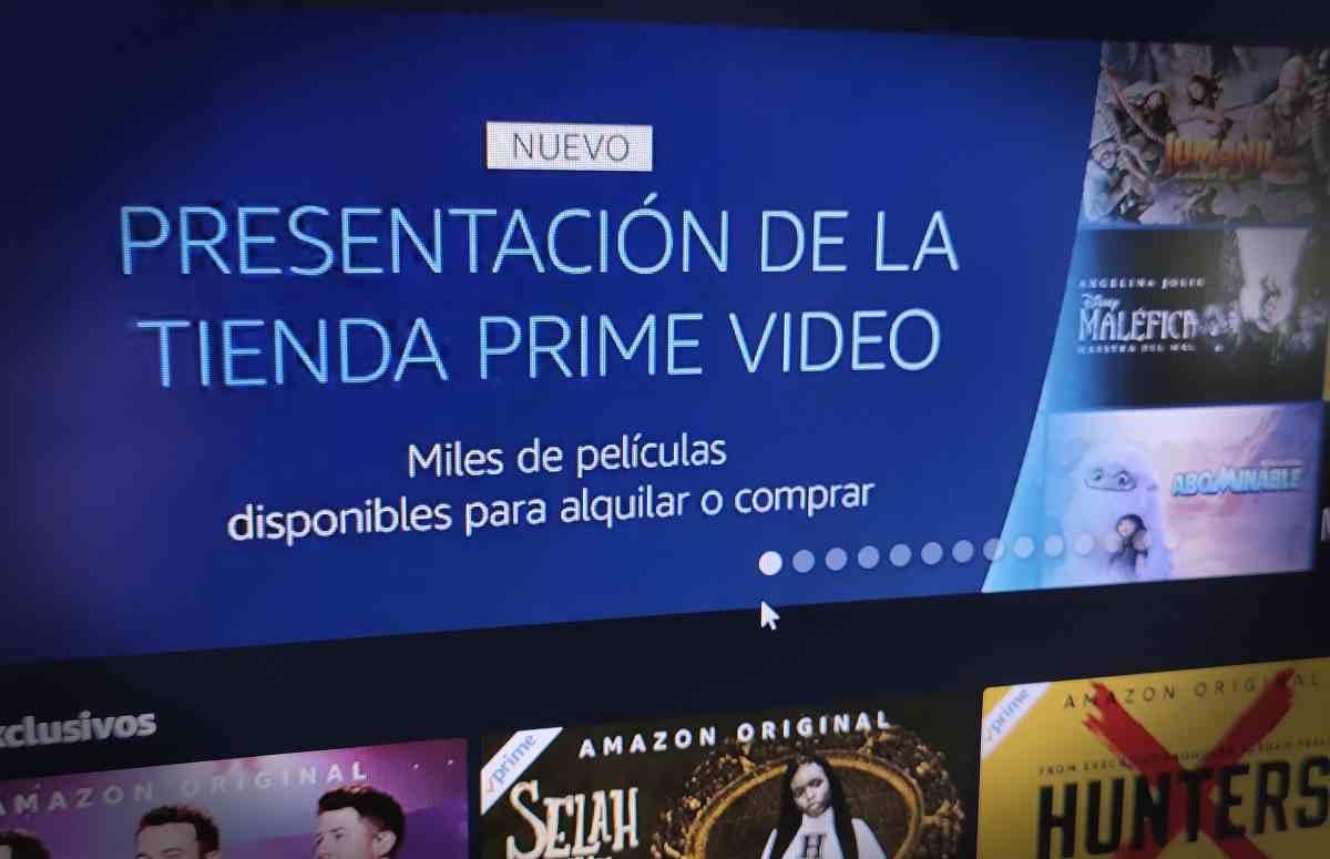 Amazon Prime Vídeo ya permite la compra y alquiler de películas y documentales en España