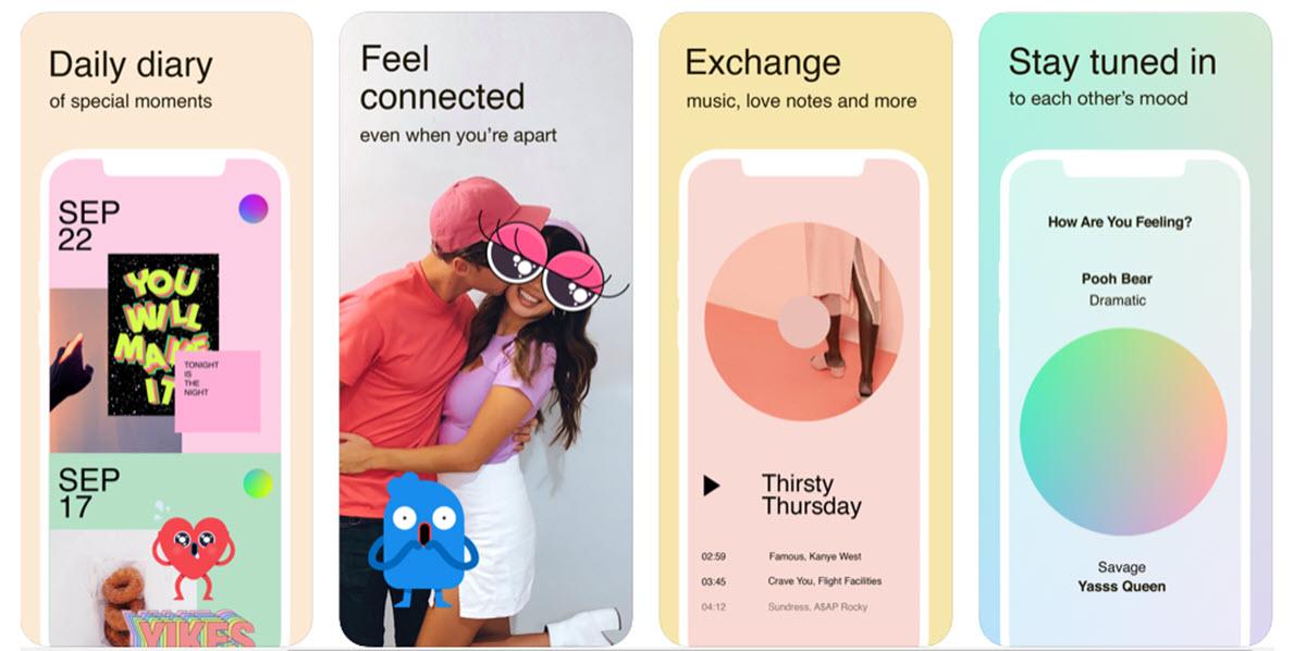 Facebook lanza una aplicación solo para parejas