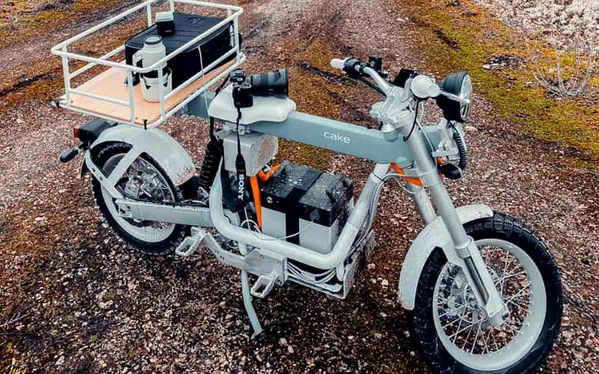 CAKE Ösa, motocicleta eléctrica modular multiuso premiada por su excelente diseño