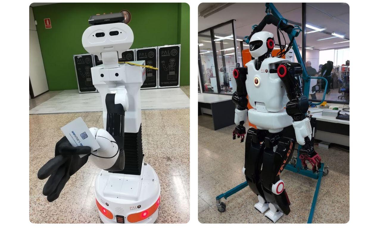 Pal Robotics y sus diferentes robots para ayudar a los médicos a combatir el coronavirus