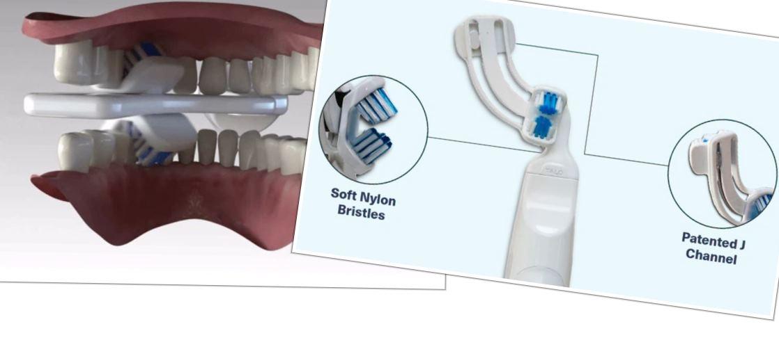 Un cepillo de dientes diferente a lo que estamos acostumbrados a ver