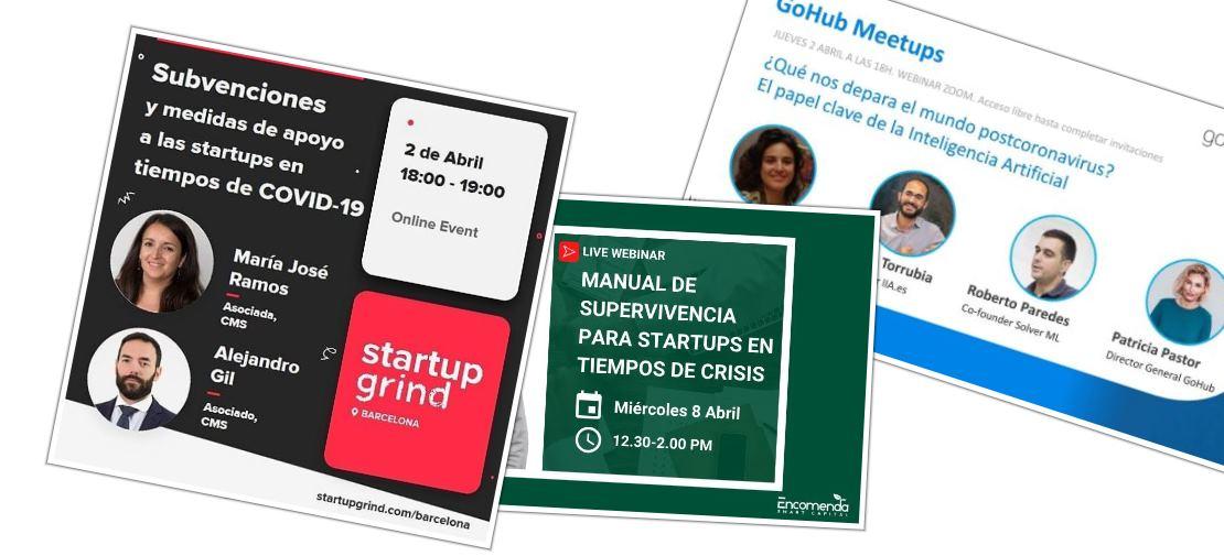 Eventos online para hablar sobre negocios en tiempo de coronavirus